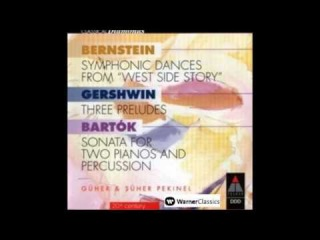 Bernstein, Symphonic Dances from West Side Story, Part I