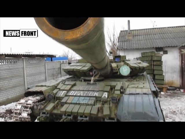 ДНР. Освобожденное от укрофашистов с. Озеряновка