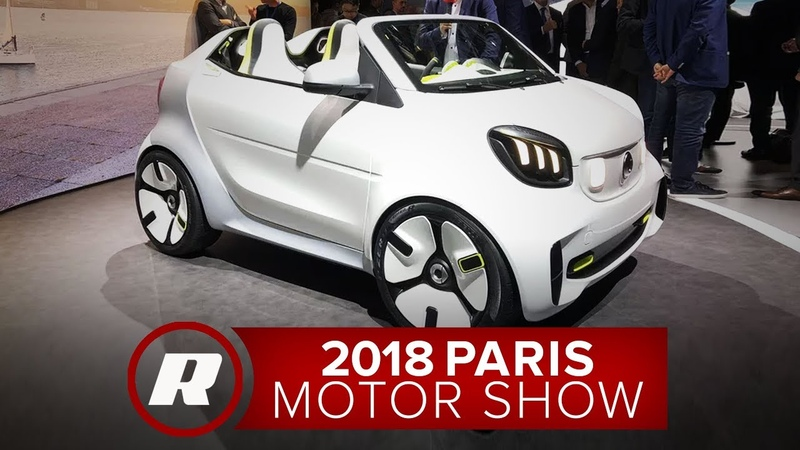Smart Forease is a cute little chop top Parisian concept 2018 Paris Motor Show