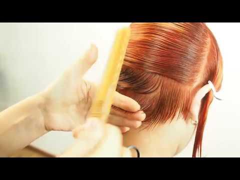 Английская техника стрижки. Круглая градуировка. Школа парикмахерского исскуства Саратов