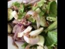 Лёгкий вкусный салатик к ужину
