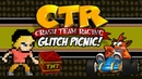 Crash Team Racing Glitch Picnic CTR Glitches Playstation 1 MikeyTaylorGaming