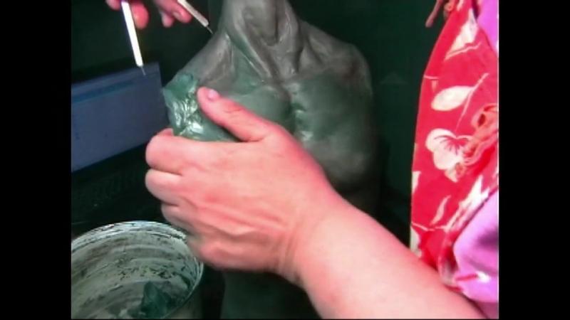 Шарнирная кукла из папье маше своими руками 3 часть ( руки, шарниры, шарниро приемники.