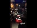 180506 Шивон покидает ресторан Ding Wang