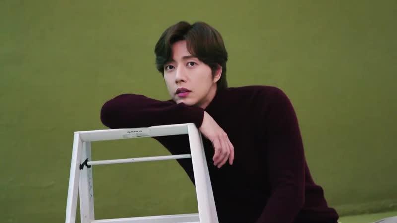 AOA Seolhyun и Park Hae-jin photoshoot 3