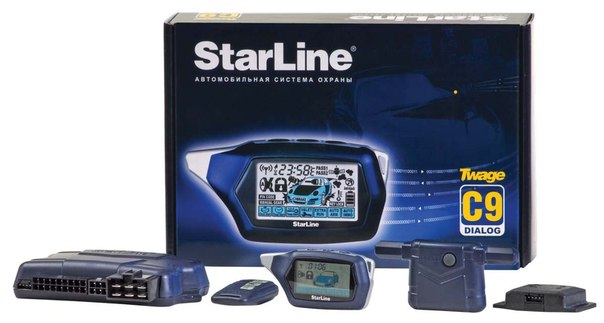 Автосигнализация StarLine Twage C9.
