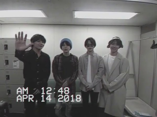 BTS IN JAPAN BEFORE HANDSHAKE EVENT OSAKA TAEHYUNG WITH HIS MULLET HAIRSTYLE CONFIRMED