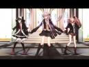 [MMD] Danganronpa - Kyouko,Celes,Junko - Girls [TEST MODEL EDITED]