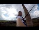прыжок с трубы 60 м.