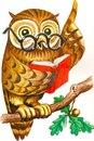 """Предпросмотр - Схема вышивки  """"Мудрая сова """" - Схемы автора  """"mentor """" - Вышивка крестом."""
