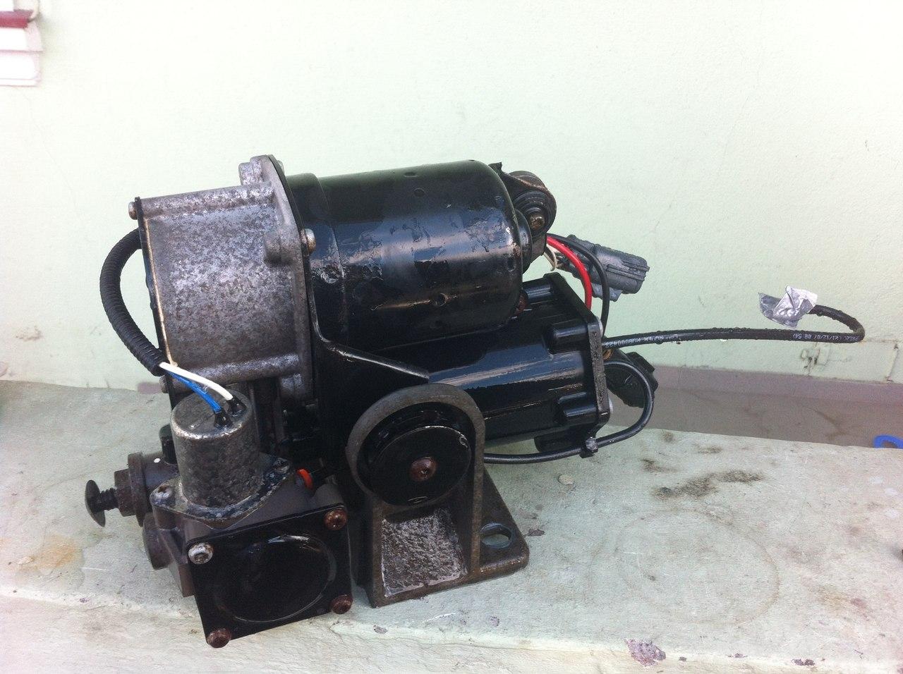 Ремонт компрессора пневмоподвески дискавери 3 своими руками