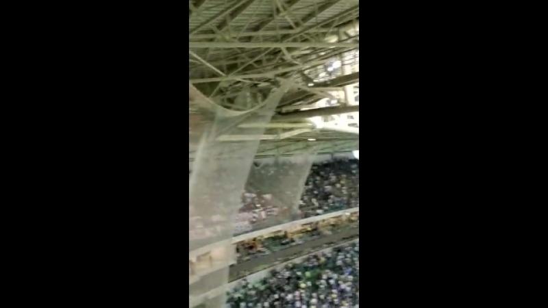 Torcida do Colo Colo no Allianz Parque 45º do 2T