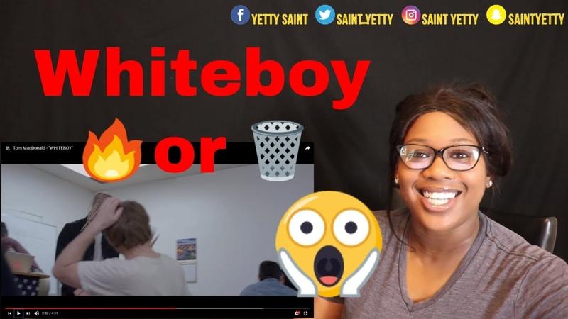 Mom reacts to Tom MacDonald - WHITEBOY | Reaction