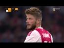 Лига Чемпионов 2018-19 / 3 кв раунд / Ответный матч / Аякс Нидерланды - Стандард Бельгия / 2 тайм