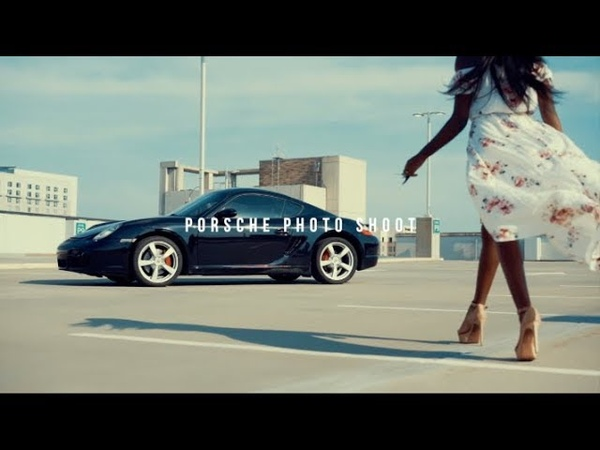 Sony A7R3 Fashion Model Photoshoot With A Porsche 718 Cayman S