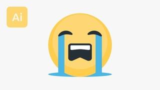 Create a Vector Emoji in Illustrator Tutorial
