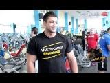 Тренируем грудные мышцы с Димой Ивановым  . фитнес мотивация