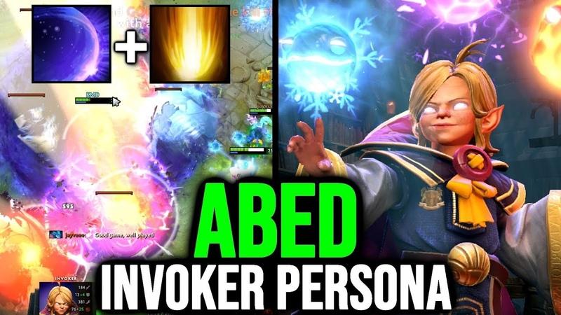 ABED 10K MMR EPIC Young Invoker Persona - Cataclysm Chronosphere Wombo Combo Dota 2 TI9 NEW SET