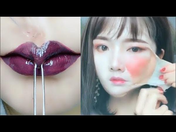 카메라에 찍히지 않았다면 믿을수 없는 메이크업 순간들 12 l Best Viral Asian Makeup Hacks and Transformations 201