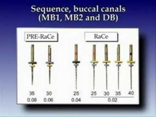 root canal treatment clinical case part 1 using race files