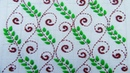 Hand Embroidery New Nakshi Kantha Design Drawing and Embroidery