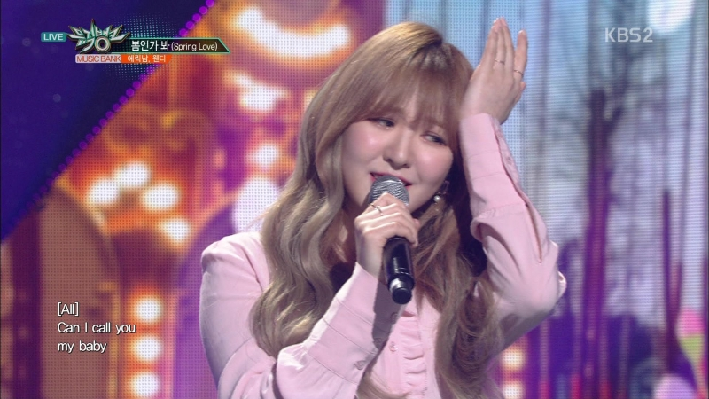 [Special Stage] 180413 Eric Nam (에릭남) Wendy (웬디) - Spring Love (봄인가 봐)