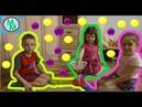 Кольцо челлендж Кто попадет в кольцо Миша Соня Полина Веселое видео для детей Мульти Мишка