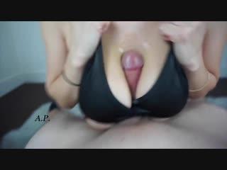 Missalexapearl - hand free tit blowjob (brazzers, порно, анал, porno, сиськи, жопа, mofos, webcam, manyvids)