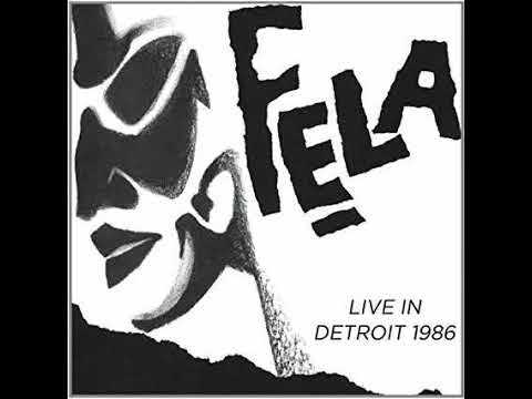 Fela Kuti Egypt 80 Live In Detroit 1986 Confusion Break Bones