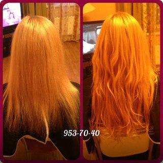 Нарастить волосы спб