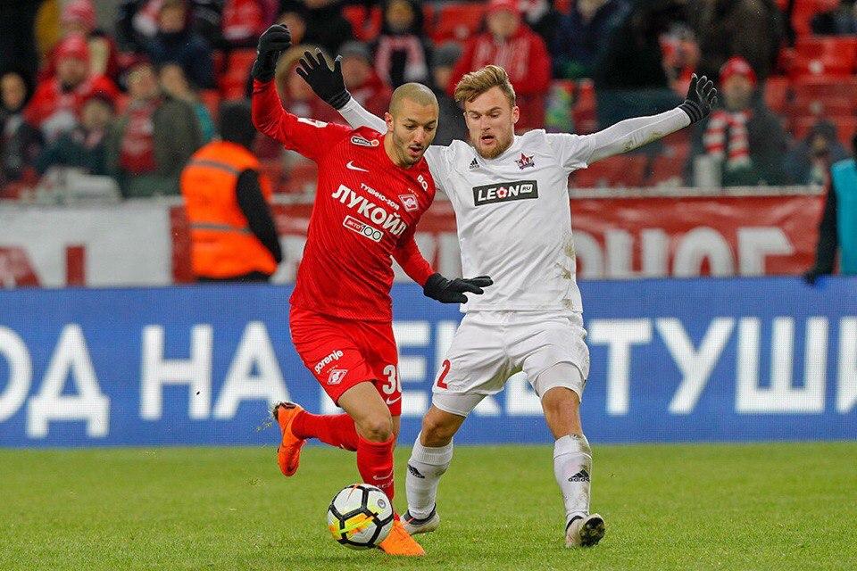 Софьян Ханни: Счастлив одержать первую победу в российской лиге