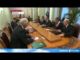 Решение властей Крыма обсудили постоянные члены Совбеза РФ во главе с Владимиром Путиным
