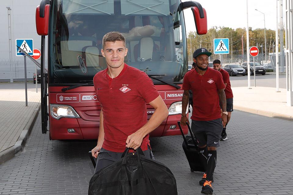 В Петербург летят 22 игрока «Спартака»