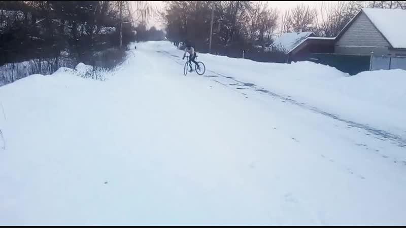 шоссер и лёд