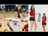 Dana Rettke - 6-foot-8 Volleyball Giant (HD)