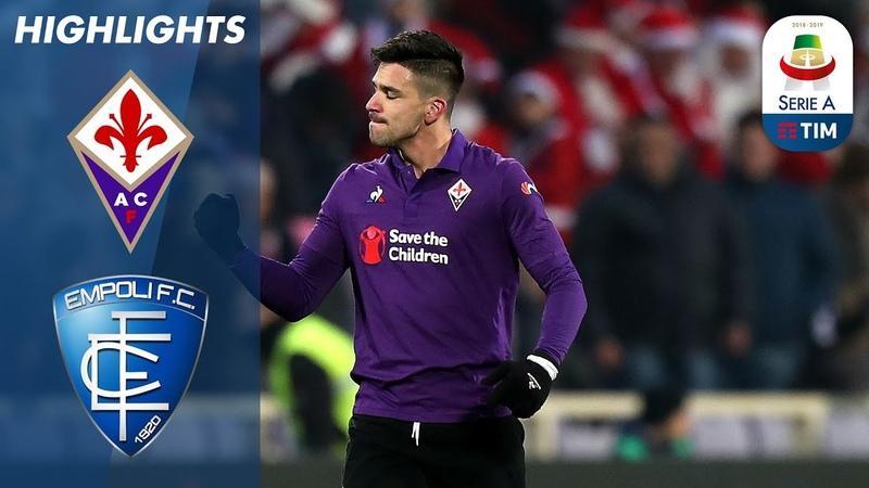 Fiorentina 3-1 Empoli   Ripresa in rimonta per la Fiorentina: sono 3 punti   Serie A