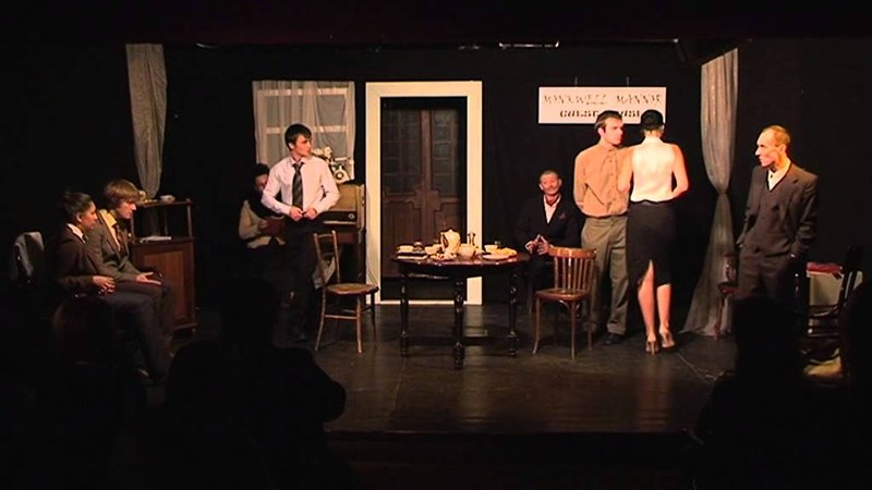 Агата Кристи, Мышеловка, спектакль театра-студии Палитра, 24 сентября 2010
