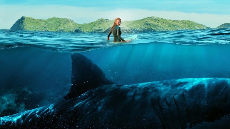 Это невероятно Акула - убийца . ( Отмель ) .