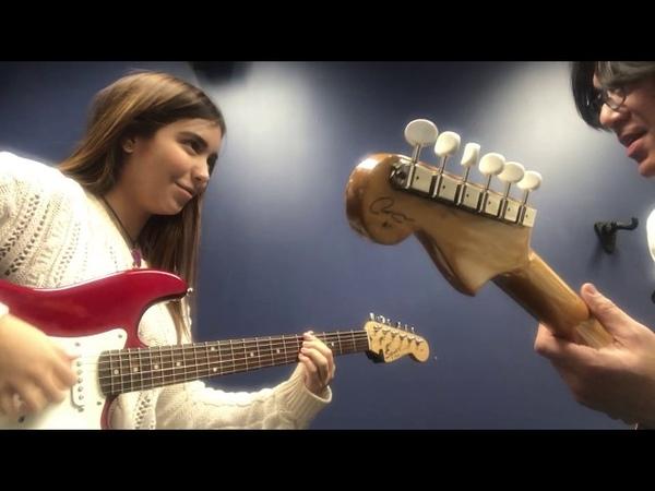 Berklee Guitar private lesson / Jamming SUNNY with my student / Tomo Fujita