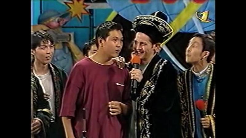 Казахстанский проект - Музыкальный конкурс (КВН Высшая лига 2000. Первая 1/4 финала)