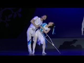Без руки, без ноги. Невозможный танец китайских танцоров!