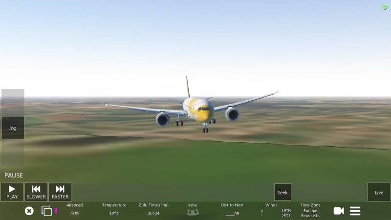 "Пойдёт•ПАСАДКА Boeing ""Дримлайнер"""