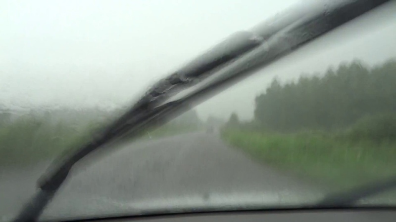 Малоснежное Уральское лето зато очень дождливое