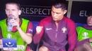 Cristiano Ronaldo wanna rock!