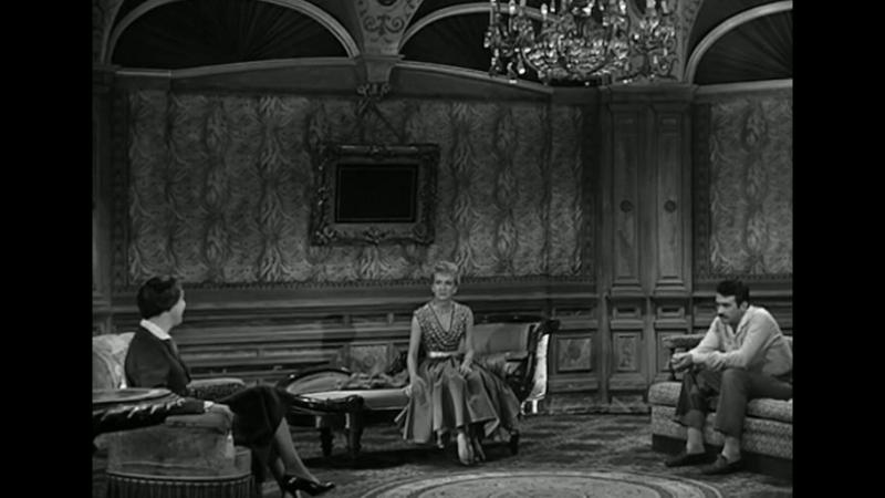 За закрытыми дверями. Huis clos. 1954. Jacqueline Audry