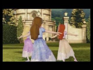Барби-12 танцующих принцесс.