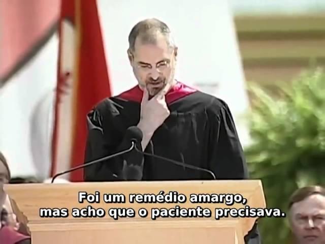 Steve Jobs - Discurso de colação de Grau em Stanford em 12 de junho de 2005 - Legendado PT-BR