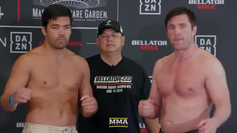 Bellator 222 Lyoto Machida vs. Chael Sonnen Weigh-In Staredown