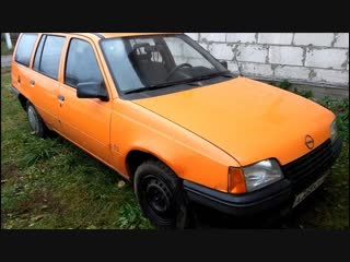 Краткий обзор Opel Kadett E