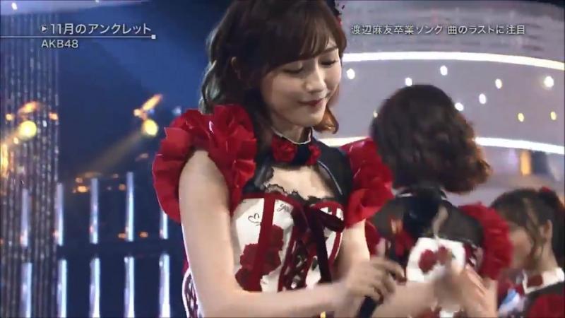【HD】AKB48『11月のアンクレット』 2017年11月15日【ベストヒット歌謡祭2017】